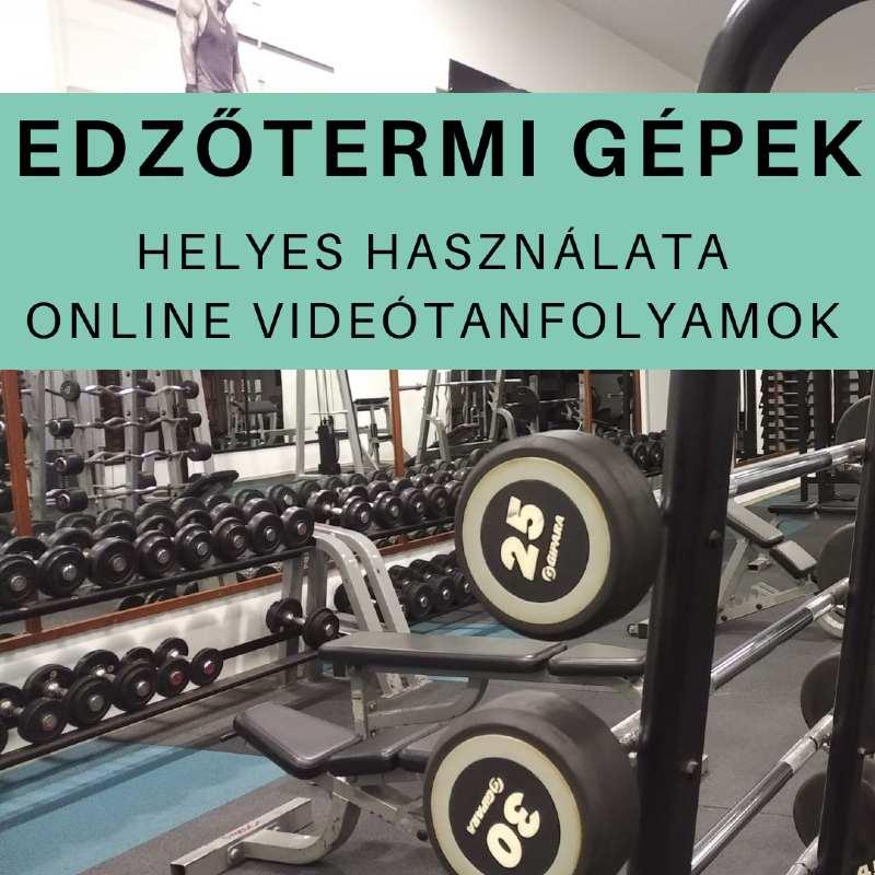 Fitness62 - Edzőtermi gépek helyes használata - online tanfolyamok